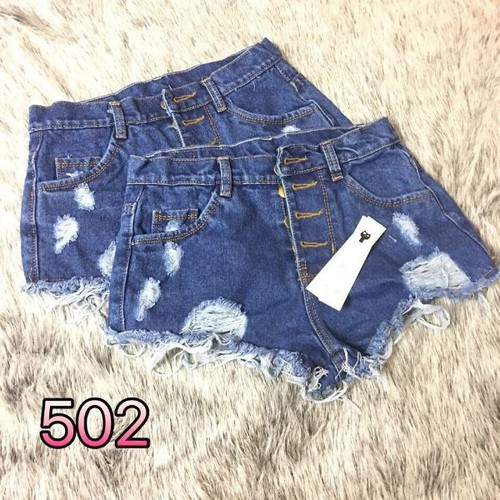 Quần short jeans nữ 4 nút - 8457060 , 17852906 , 15_17852906 , 95000 , Quan-short-jeans-nu-4-nut-15_17852906 , sendo.vn , Quần short jeans nữ 4 nút