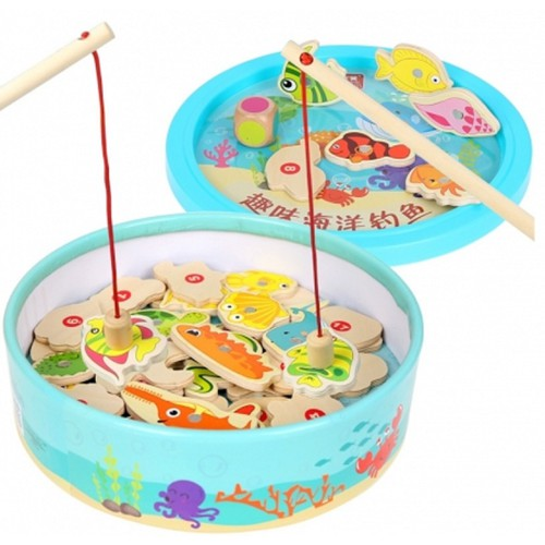 Bộ đồ chơi câu cá Puzzle Fun Fishing vui nhộn cho trẻ
