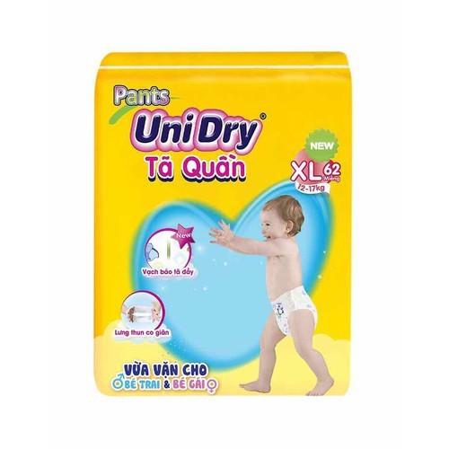 Bỉm tã quần Unidry size XL62 cho bé cân nặng 12 đến 14 kg