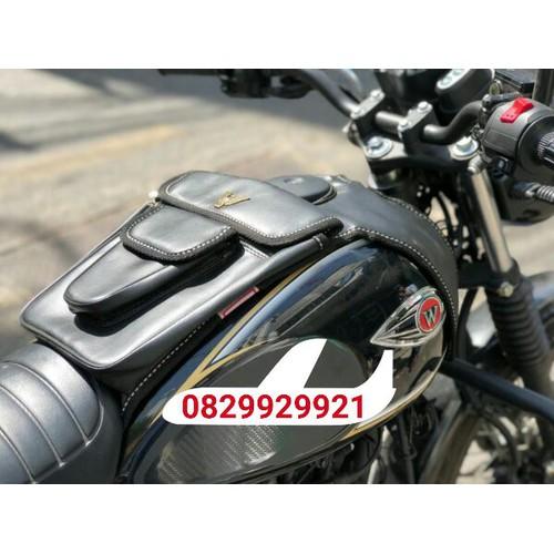 túi da bình xăng xe máy