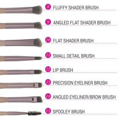 Bộ cọ trang điểm Bh Cosmetics Lavish Elegance 15 Piece Brush Set With Cosmetic Bag