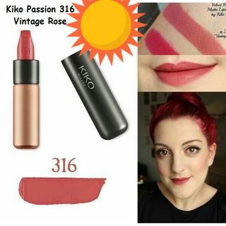[SALE] Son kem lỳ KiKo Milano Velvet Passion nắp nam châm sành điệu - Kikovelvet316 thumbnail