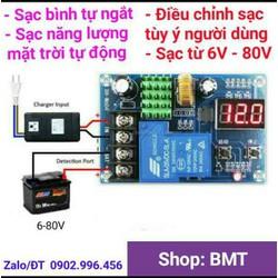Mạch quản lý sạc ắc quy tự ngắt XH-M604