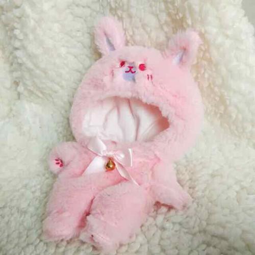Bộ thỏ hồng cho doll