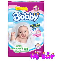 MIẾNG LÓT BOBBY NB1 64 MIẾNG