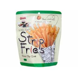 snack khoai tây que oshi strip fries vị tảo biển 27g x lốc 10 gói