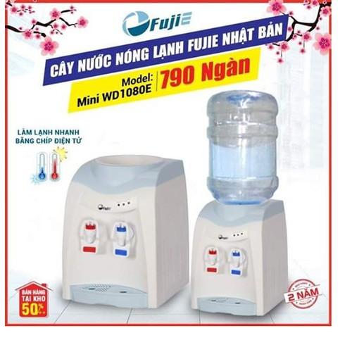 Cây Nước Nóng Lạnh Để Bàn Mini FujiE WD1080E - 11395533 , 18871159 , 15_18871159 , 890000 , Cay-Nuoc-Nong-Lanh-De-Ban-Mini-FujiE-WD1080E-15_18871159 , sendo.vn , Cây Nước Nóng Lạnh Để Bàn Mini FujiE WD1080E