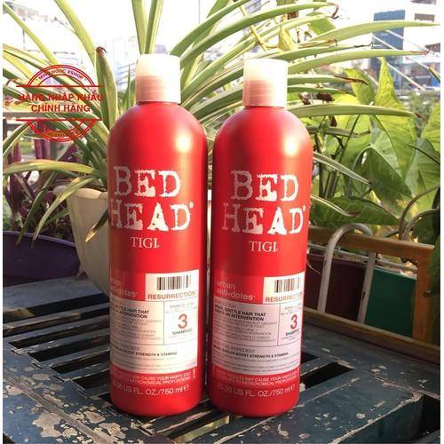 Dầu gội xả phục hồi tigi bed head urban antidotes 750ml x 2 - 16961270 , 18876952 , 15_18876952 , 540000 , Dau-goi-xa-phuc-hoi-tigi-bed-head-urban-antidotes-750ml-x-2-15_18876952 , sendo.vn , Dầu gội xả phục hồi tigi bed head urban antidotes 750ml x 2