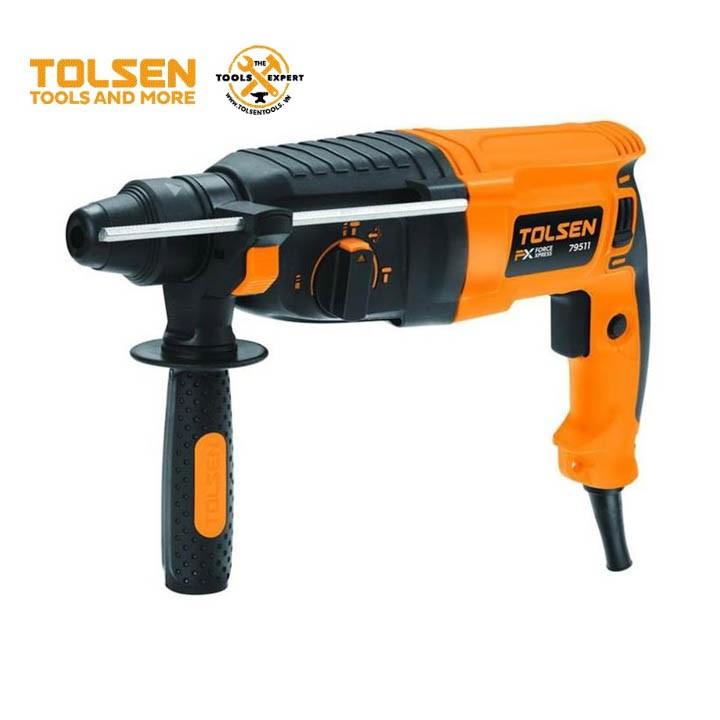 Máy khoan búa Tolsen 79511 - 800W