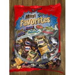 kẹo chocolate mỹ mix lộn xộn gói 2 27kg