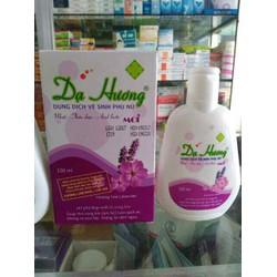 Dung dịch vệ sinh phụ nữ Dạ Hương lavender chai 100ml