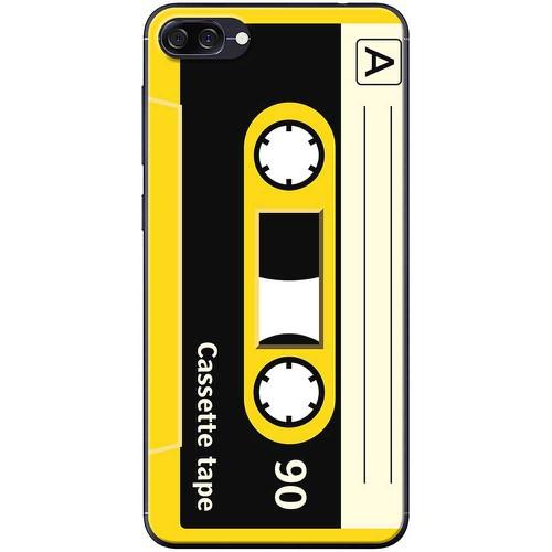 Ốp lưng nhựa dẻo Asus Zenfone 4 Max ZC520KL Cassette vàng