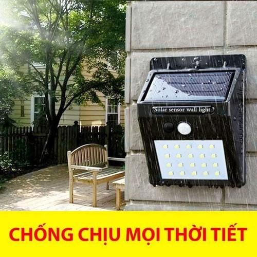 Đèn Cảm Biến Hồng Ngoại Năng Lượng Mặt Trời #Solar Motion Sensor Light
