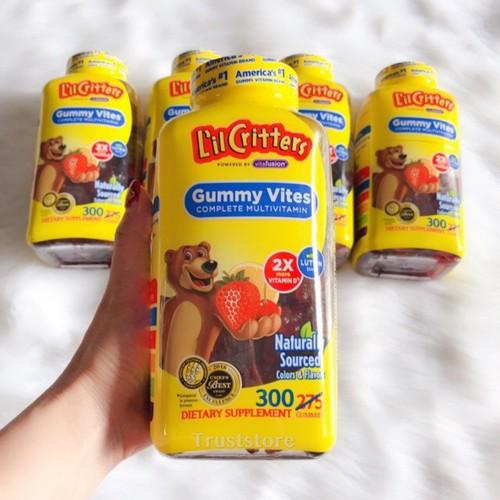 Kẹo dẻo bổ sung Vitamin L'il Critters Gummy Vites 300 viên - 8553116 , 17888470 , 15_17888470 , 455000 , Keo-deo-bo-sung-Vitamin-Lil-Critters-Gummy-Vites-300-vien-15_17888470 , sendo.vn , Kẹo dẻo bổ sung Vitamin L'il Critters Gummy Vites 300 viên