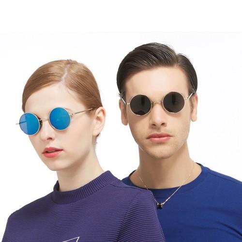 Kính mát kính mát tròn nam nữ