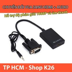 Cáp Chuyển Đổi VGA Sang HDMI