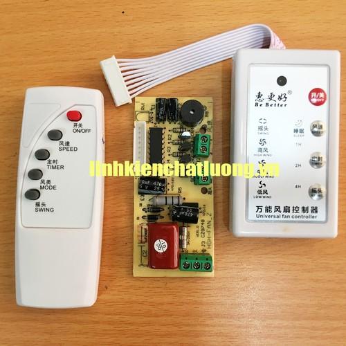 Bo mạch quạt điện tử đa năng QDN-02 tiếng Anh