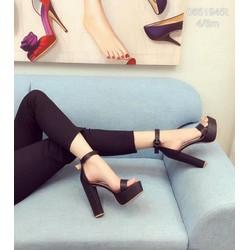 Giày sandal cao gót cao cấp