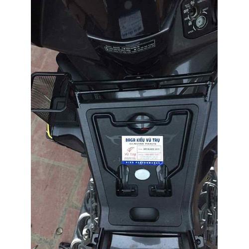 combo baga nhựa đen xe air blade và rỏ vuông - 8533194 , 17880648 , 15_17880648 , 190000 , combo-baga-nhua-den-xe-air-blade-va-ro-vuong-15_17880648 , sendo.vn , combo baga nhựa đen xe air blade và rỏ vuông