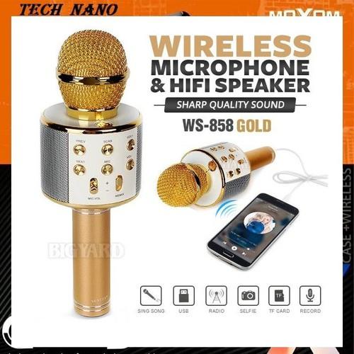 [HỖ TRỢ 30K PVC] Micro kèm loa Bluetooth WS-858 cao cấp bảo hành 3 tháng - 7723113 , 17875131 , 15_17875131 , 200000 , HO-TRO-30K-PVC-Micro-kem-loa-Bluetooth-WS-858-cao-cap-bao-hanh-3-thang-15_17875131 , sendo.vn , [HỖ TRỢ 30K PVC] Micro kèm loa Bluetooth WS-858 cao cấp bảo hành 3 tháng