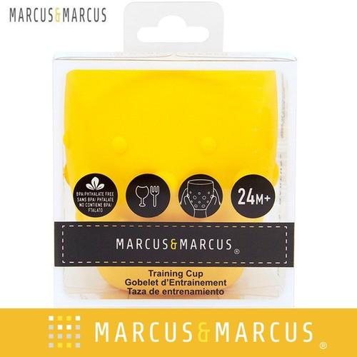 Ly tập uống nước silicon cho bé Marcus & Marcus- Lola-vàng