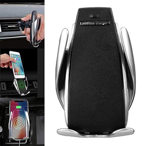 Đế sạc không dây S5 Wireless Charging Car kiêm giá đỡ điện thoại