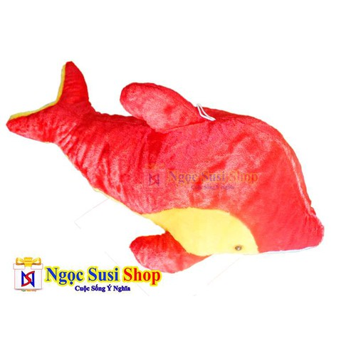 Rẻ Vô Địch - Thú Bông Gấu Bông Cá Heo 50cm Cao Cấp - Giá Sập Sàn
