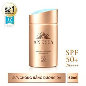 Sữa Chống Nắng SHISEIDO ANESSA PERFECT UV SUNSCREEN SKINCARE SPF 50+ PA++++ 60ml - vy