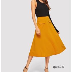 QG886 -chân váy thiết kế xòe đẹp *40-90kg