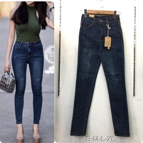 quần jeans dài nữ giá khuyến mãi