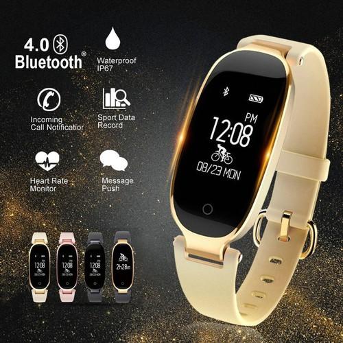 Vòng tay thông minh cho nữ SANDA S3 thiết bị đeo tay theo dõi sức khỏe, đồng hồ thông minh thể thao, chống nước, pin khoẻ TTB-SDS3 - 8512376 , 17874843 , 15_17874843 , 750000 , Vong-tay-thong-minh-cho-nu-SANDA-S3-thiet-bi-deo-tay-theo-doi-suc-khoe-dong-ho-thong-minh-the-thao-chong-nuoc-pin-khoe-TTB-SDS3-15_17874843 , sendo.vn , Vòng tay thông minh cho nữ SANDA S3 thiết bị đeo tay