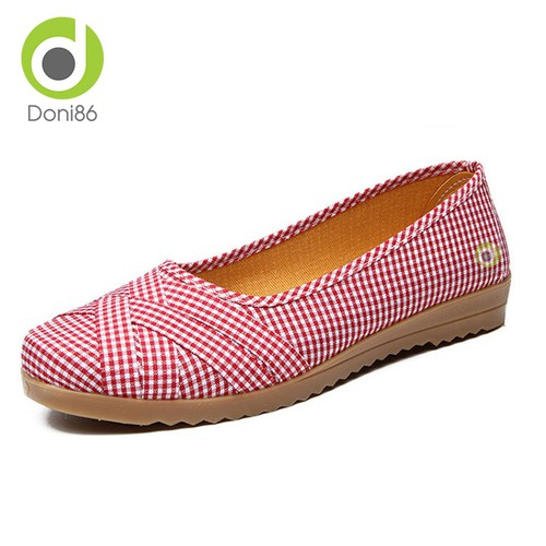Giày loafer nữ cực êm chân chất liệu vải thích hợp mùa hè mang đi học đi làm kiểu dáng ôm chân họa tiết carô dễ thương - 349R - 8537030 , 17882074 , 15_17882074 , 150000 , Giay-loafer-nu-cuc-em-chan-chat-lieu-vai-thich-hop-mua-he-mang-di-hoc-di-lam-kieu-dang-om-chan-hoa-tiet-caro-de-thuong-349R-15_17882074 , sendo.vn , Giày loafer nữ cực êm chân chất liệu vải thích hợp mùa hè mang