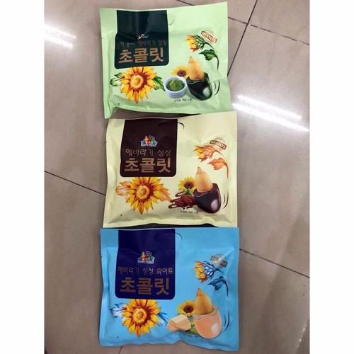 Combo 10 gói  Kẹo Hướng Dương Bọc Chocolate Hàn Quốc  mix vị inbox shop