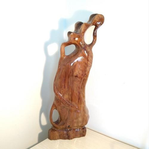 Bình phay nghệ thuật chun thủy tùng Việt 46cm