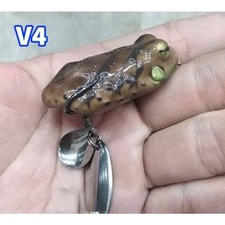 Frog Toon V4 Nâu Mồi Lure Giả Câu Cá Lóc Hiệu Quả Thái Lan - Frog Toon V4 thumbnail