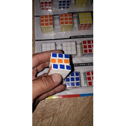 Set 2 cái rubik nhỏ 3x3 bằng nhựa rất đẹp
