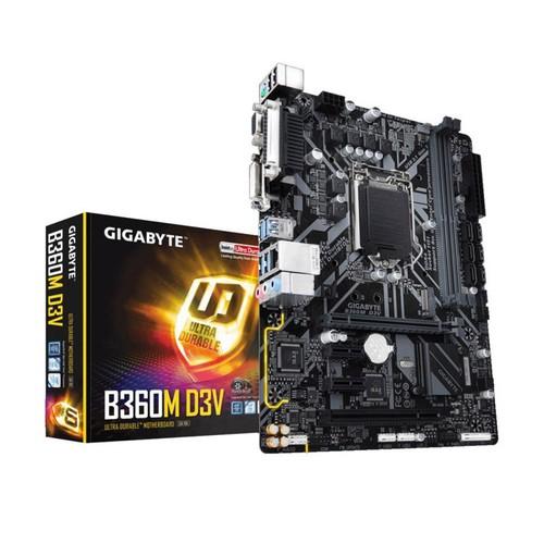 Mainboard Gigabyte B360M - DV2 hay D3V hàng viễn sơn