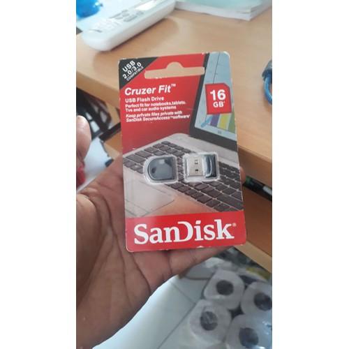 USB sandisc siêu nhỏ 16Gb tiện lợi