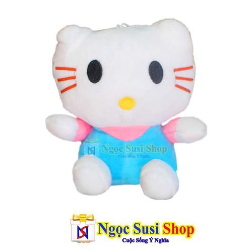 Rẻ Vô Địch - Thú Bông Gấu Bông Mèo Kitty 20cm Cao Cấp - Giá Sập Sàn