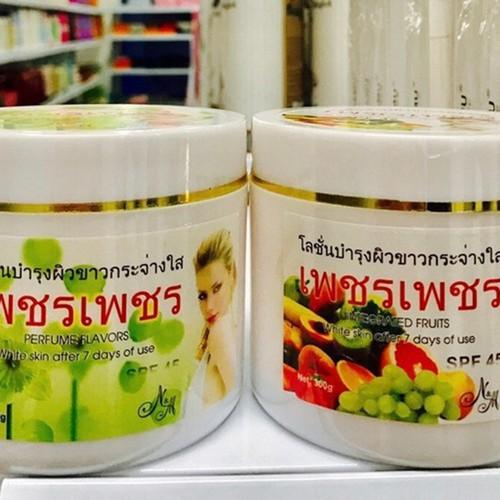 Kem dưỡng trắng da trái cây 7 ngày SPF45 250gr - ThaiLan chiết xuất từ trái cây thiên nhiên, cho bạn làn da trắng hồng - 4976124 , 18026509 , 15_18026509 , 172000 , Kem-duong-trang-da-trai-cay-7-ngay-SPF45-250gr-ThaiLan-chiet-xuat-tu-trai-cay-thien-nhien-cho-ban-lan-da-trang-hong-15_18026509 , sendo.vn , Kem dưỡng trắng da trái cây 7 ngày SPF45 250gr - ThaiLan chiết xu
