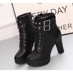 Giày bốt nữ cao gót