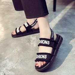 Sandal Nữ Quai Vải Siêu Êm - Dép Nữ - Dép Quai Hậu
