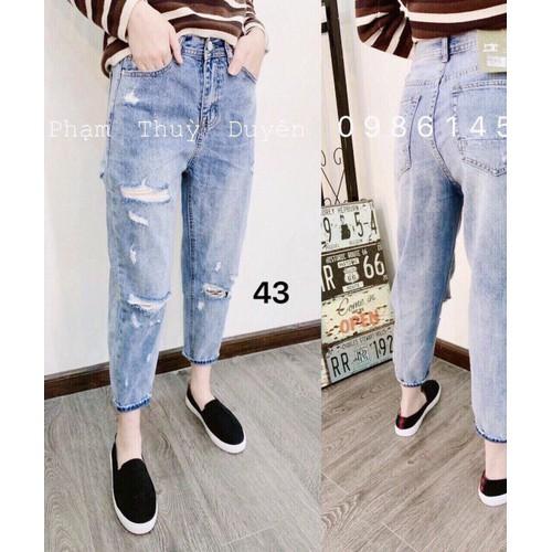 Quần baggy jeans nữ năng động - 8515553 , 17875747 , 15_17875747 , 135000 , Quan-baggy-jeans-nu-nang-dong-15_17875747 , sendo.vn , Quần baggy jeans nữ năng động
