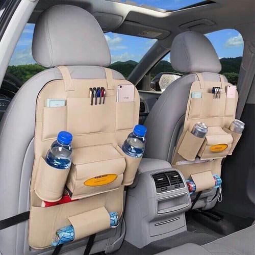 BỘ 2 túi đựng đồ da ghế đa năng cho các dòng xe