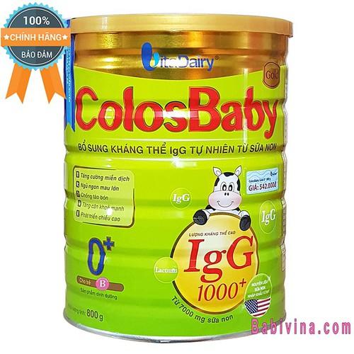 [CHO XEM HÀNG] Sữa Bột Colosbaby 0+ 800g