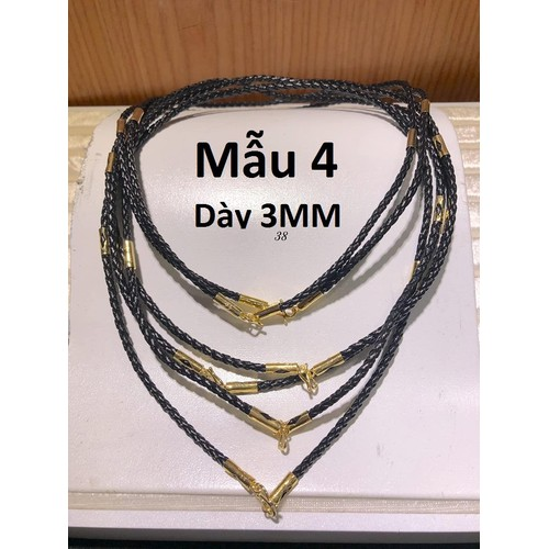 Dây da đeo cổ khóa làm bằng vàng tây Mẫu 4 - 7726650 , 17895289 , 15_17895289 , 760000 , Day-da-deo-co-khoa-lam-bang-vang-tay-Mau-4-15_17895289 , sendo.vn , Dây da đeo cổ khóa làm bằng vàng tây Mẫu 4