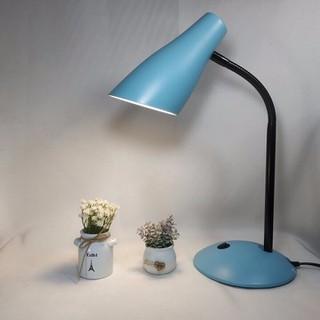 Đèn học để bàn - đèn làm việc MILOR kèm bóng LED CAO CẤP BẢO VỆ MẮT - ẢNH THẬT - MILOR-XANHDUONG thumbnail