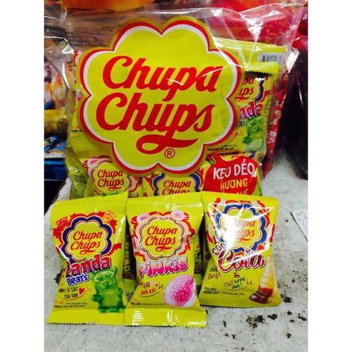 Kẹo Dẻo Chupa Chups - 1 Bịch 32 Gói