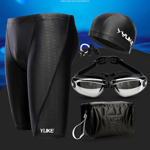 Kính bơi- Combo kính bơi+mũ+túi+quần YK1259-TC