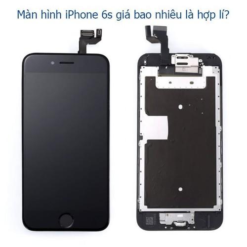 Màn Hình IPhone 6S đen kính cường lực 3D
